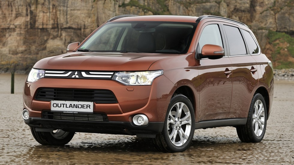 Mitsubishi Outlander Worldwide '06.2012–14