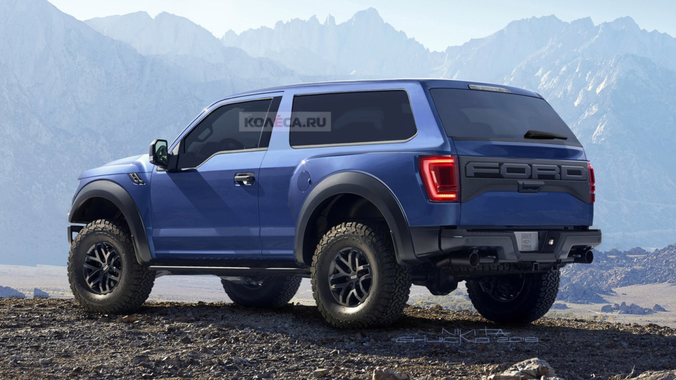 Ford Bronco rear1