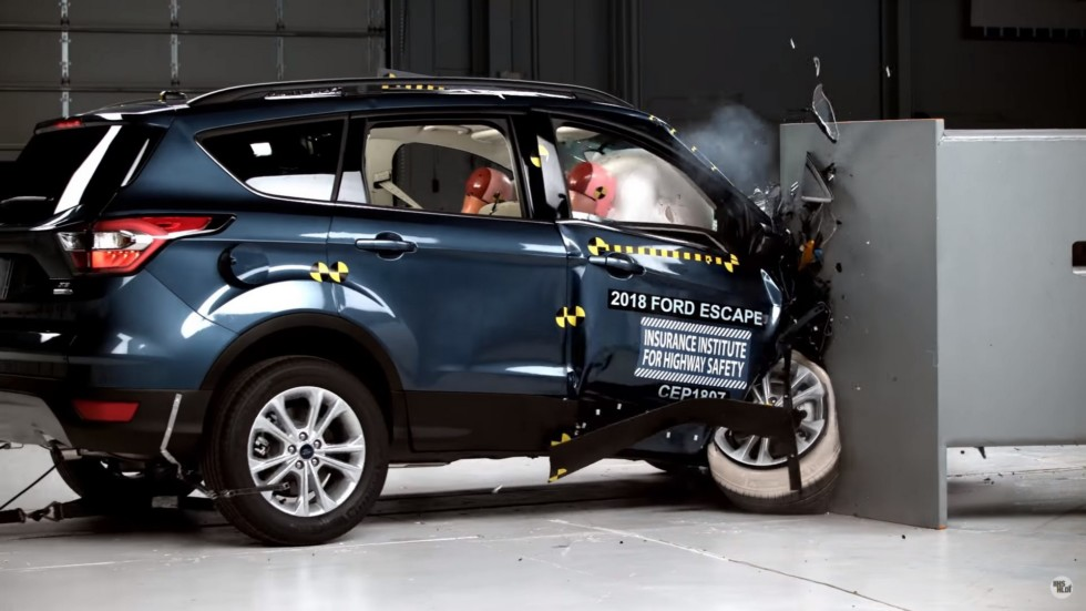 Ford Escape в тесте IIHS